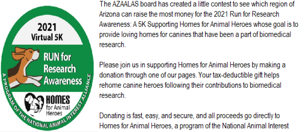 Home for Animal Heroes 5K Competition